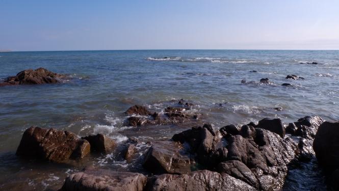 Rochers plage