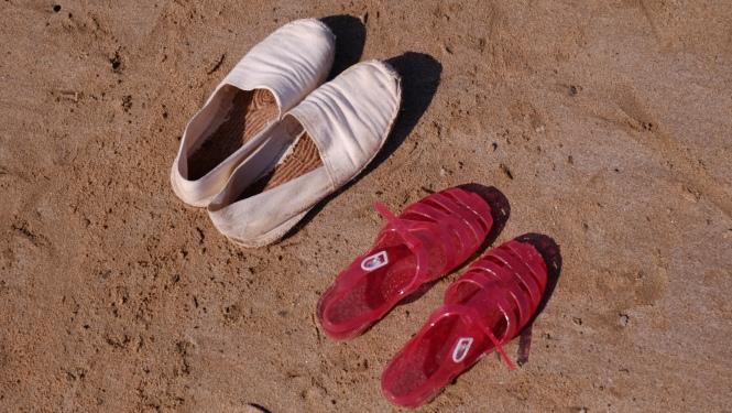 Chaussures de vacances