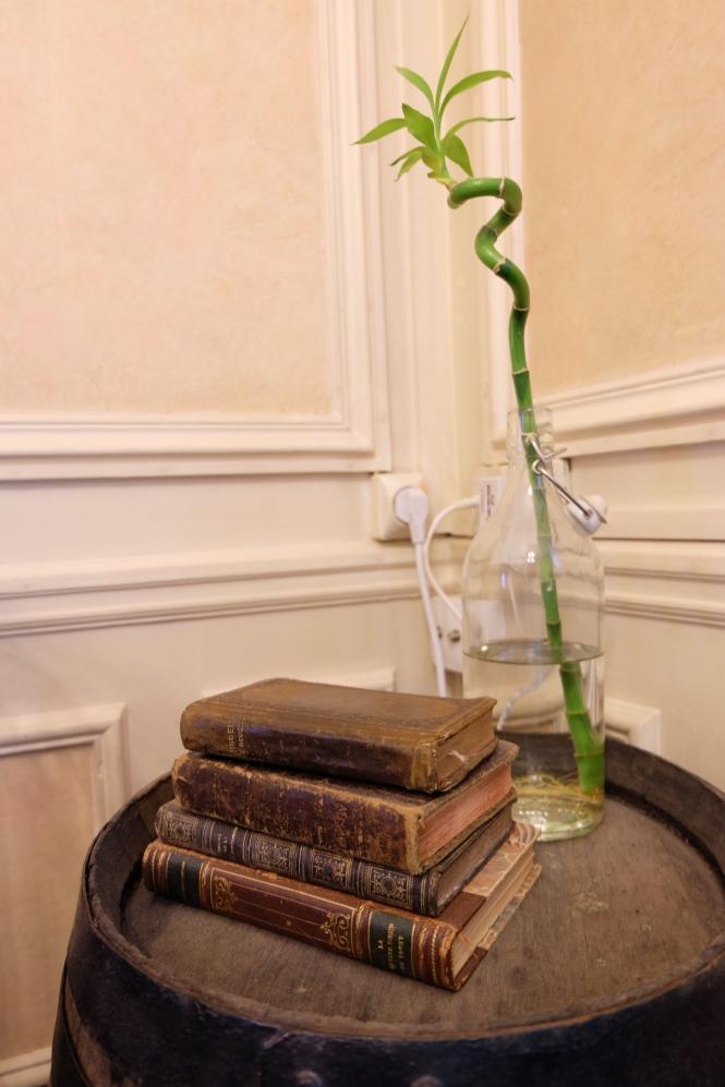 Déco livres anciens