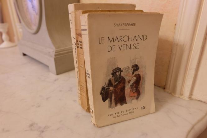 Livre ancien Shakespeare